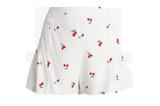 Weiße Shorts mit Cherry-Print von Honey Punch