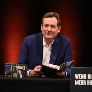 Eckhart von Hirschhausen: bei einer Lesung