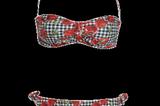 Bikini mit Kirschen-Print von Moschino