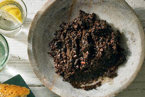 Tapenade mit Kakao