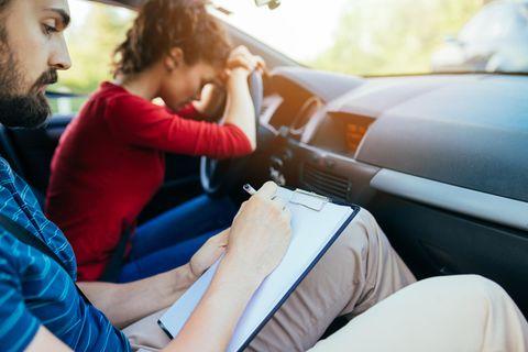 Führerschein durchgefallen