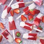 Erdbeer-Popsicles