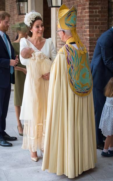 Prinz Louis wird getauft: Herzogin Kate spricht mit Erzbischof Justin Welby