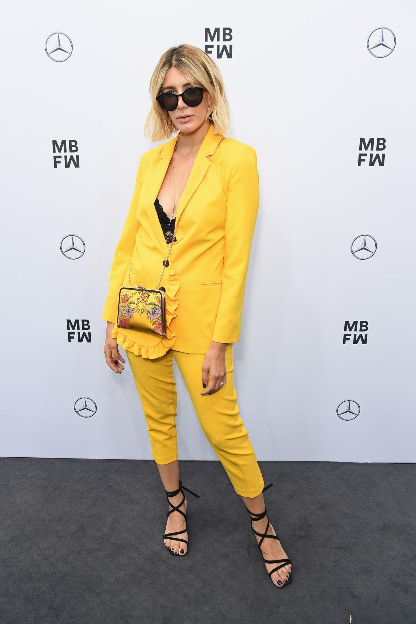 Streetstyles der Berliner Fashion Week: Victoria Nasir