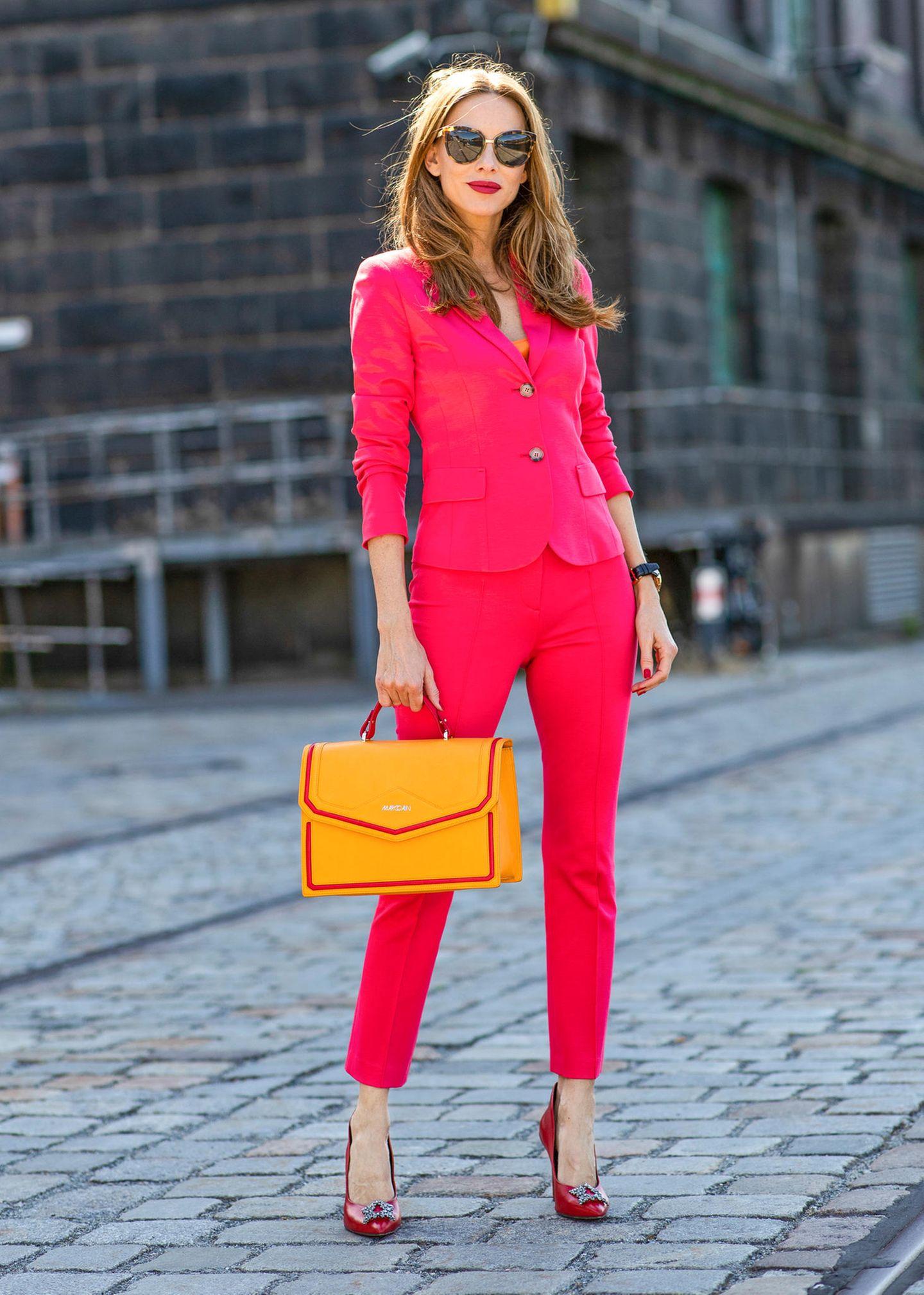 Streetstyles der Berliner Fashion Week: Alexandra Lapp