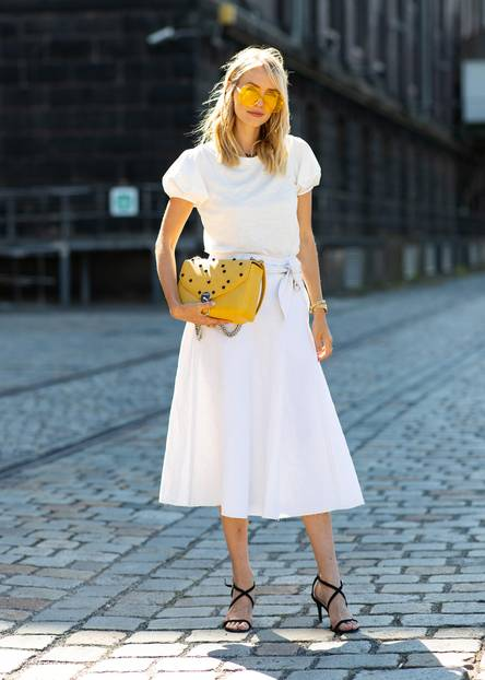 Streetstyles der Berliner Fashion Week: Leonie Hanne