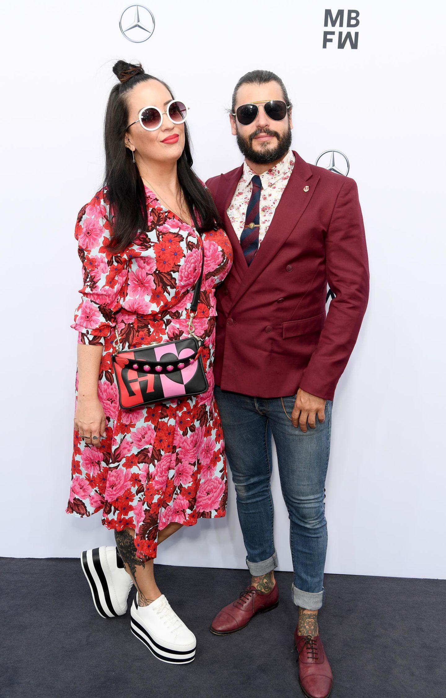 Streetstyles der Berliner Fashion Week: Miyabi Kawai und Manuel Cortez