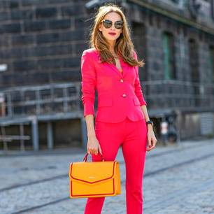 Streetstyles der Berliner Fashion Week: Alexandra Lapp