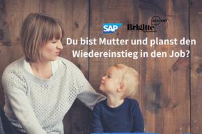 Gewinnspiel SAP: Mutter mit Kind
