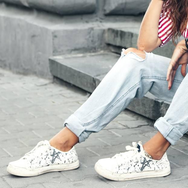 Die Schuhlasche rutscht ständig? So verhinderst du das