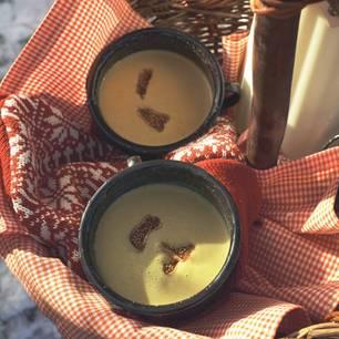 Möhren-Maronen-Suppe