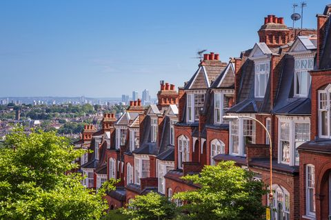 Airbnb Entdeckung: Altbau-Höuser London