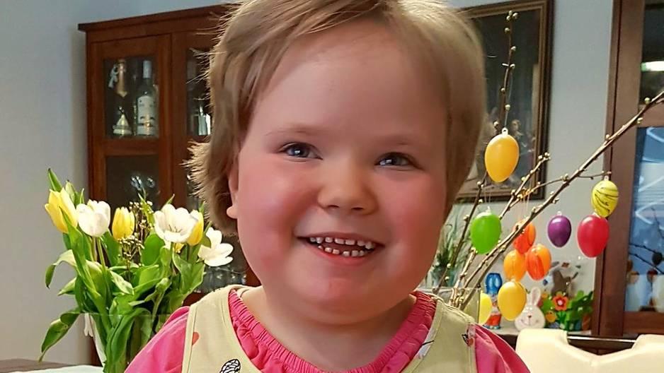 Seltene Krankheit: Die kleine Milly braucht dringend Hilfe