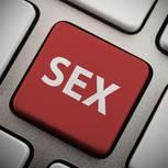 Cyber-Sex: Sex-Taste auf der Computer-Tastatur