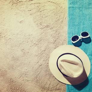 Perfekter Tag am Strand