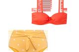 Bauch-Weg-Bikinis: Hose von Oysho und Oberteil von H&M