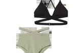 Bauch-Weg-Bikinis: High Waist Bikinihose und Triangel-Top von H&M