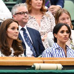 Gänsehaut-Moment in Wimbledon: Herzogin Meghan kämpft mit den Tränen