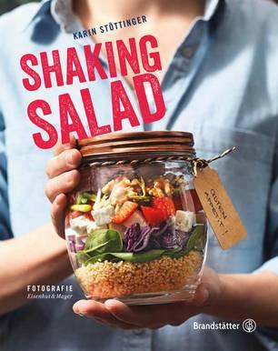 Salat im Glas: Buchcover Shaking Salad