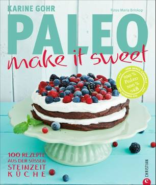 Paleo backen: Cover von Make it Sweet