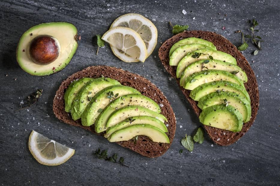 Lebensmittel mit mehr Kalorien: Avocado