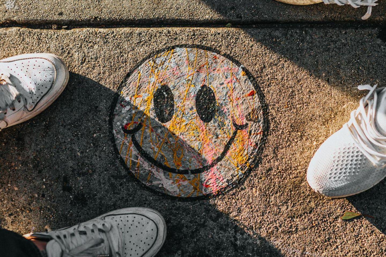 Freundlichkeit: Lächelnder Smiley