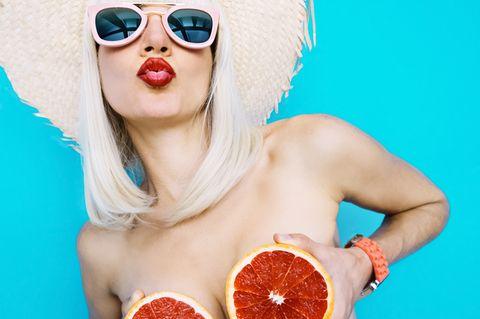 Schönes Dekolletée und straffe Brüste - mit unseren Tipps