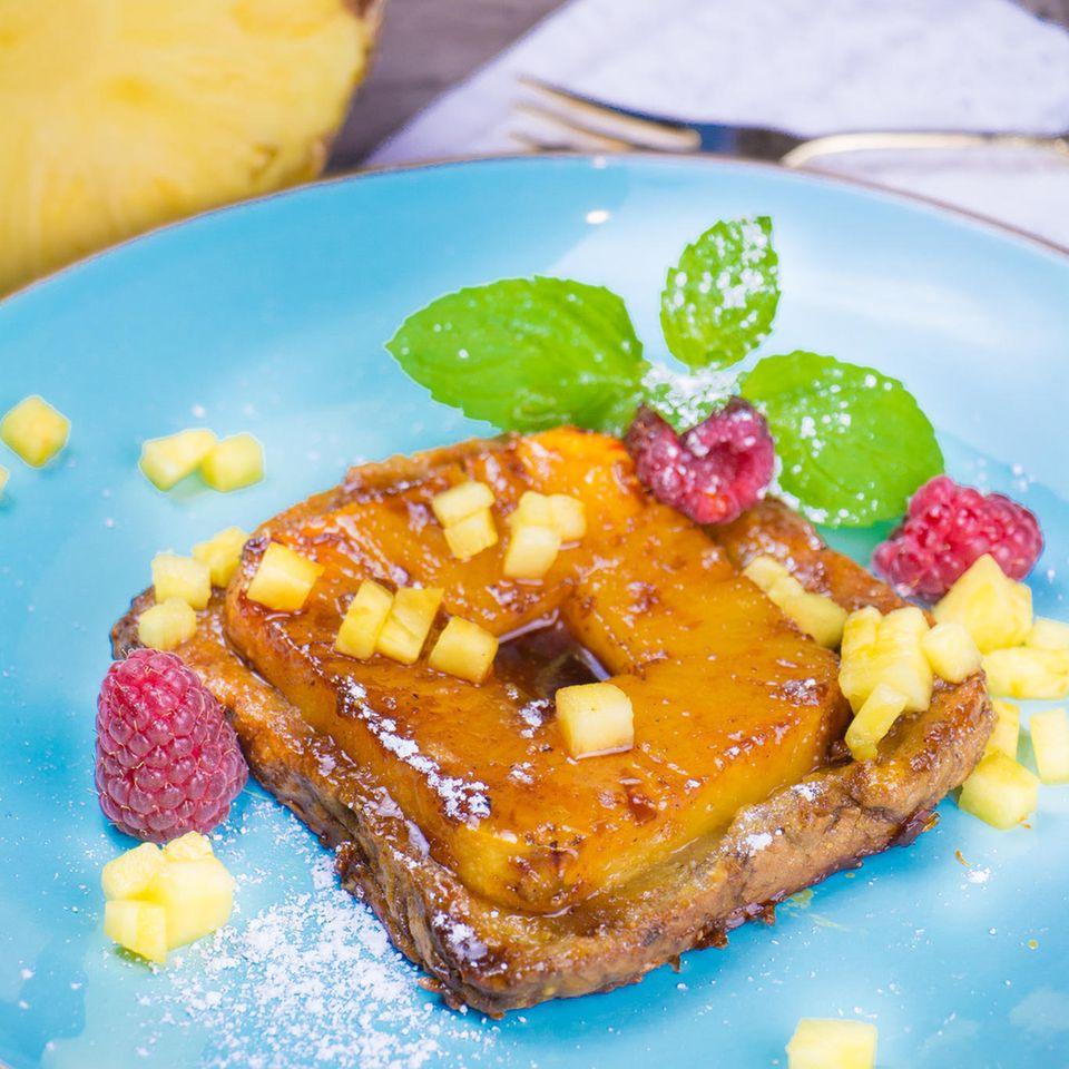 Ananas-Toast-Tatin