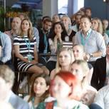 Unternehmerinnen der Zukunft: Publikum