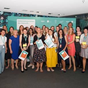 Unternehmerinnen der Zukunft: Alle Teilnehmerinnen