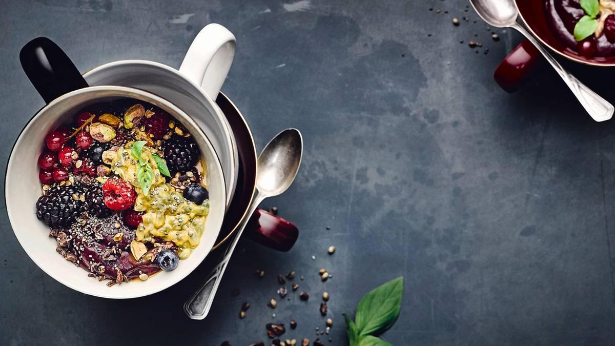 Gesundes Frühstück: Mit diesen Rezepten startet ihr gut in den Tag