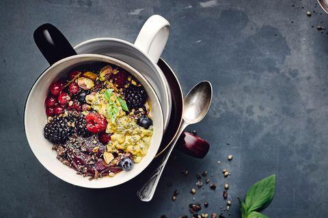 Gesundes Frühstück: Acaí Bowl