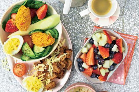 10-Minuten-Frühstücksrezepte: Bowl mit Bergkäse und Ei