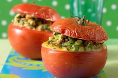 Kalte Hauptgerichte: Tomaten mit Ebly