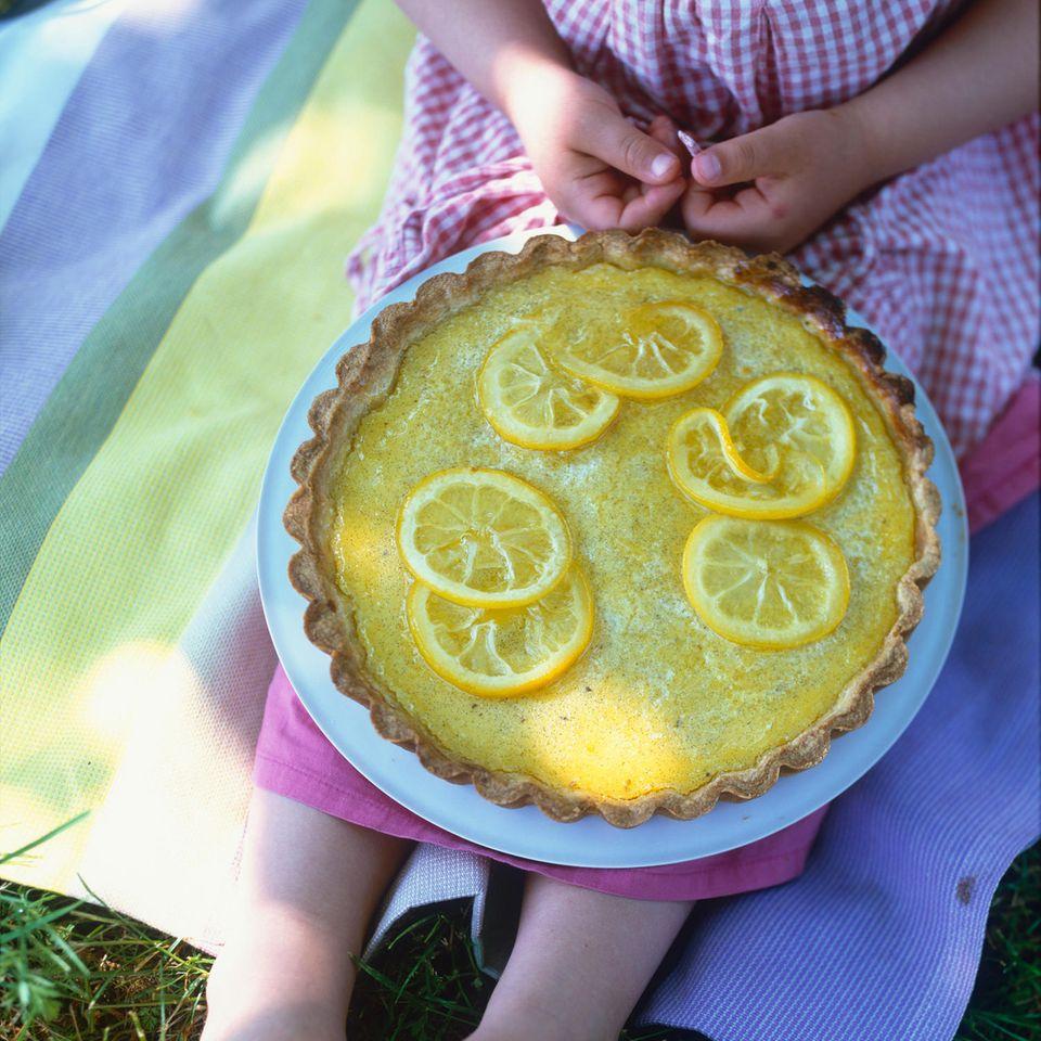 Zitronentarte mit Zitronencreme