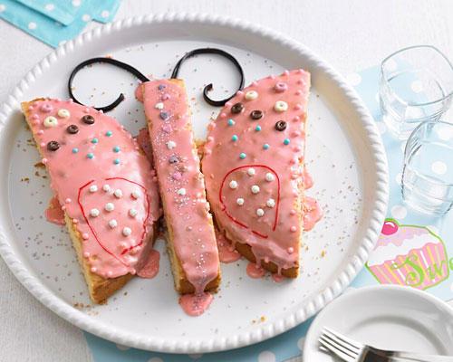 Geburtstagskuchen: Schmetterling-Zitronenkuchen