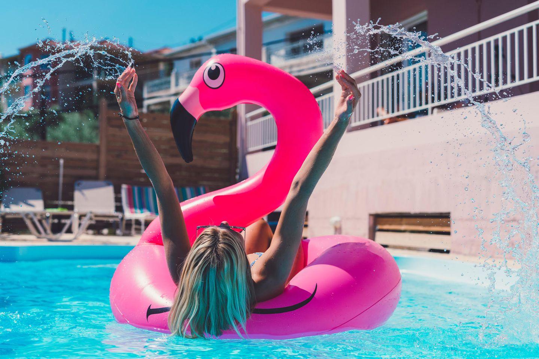 Flamingo, Einhorn oder Krokodil? Das sagt dein Floaty über dich aus!