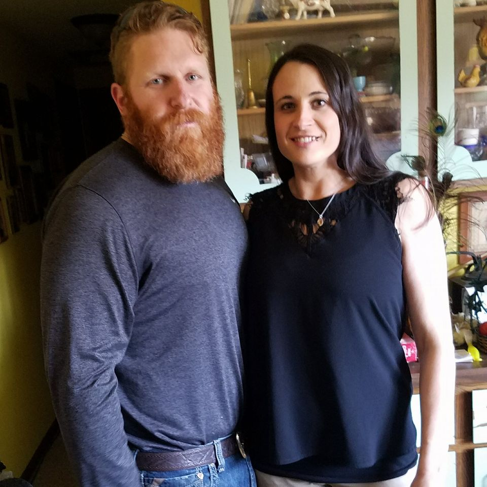 Dieses Pärchen hat gemeinsam richtig abgespeckt: Leah und Eric Evans dünn
