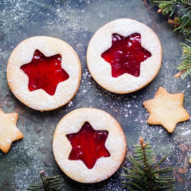 Deutsche Weihnachtsplätzchen.Linzer Plätzchen Das Beste Rezept