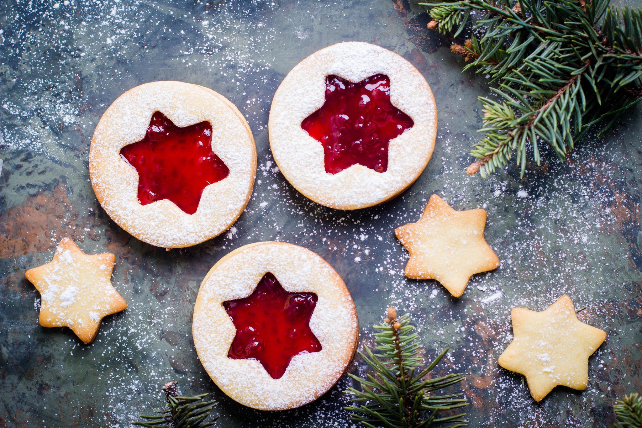 Weihnachtsplätzchen Teig Zum Ausstechen.Linzer Plätzchen Das Beste Rezept