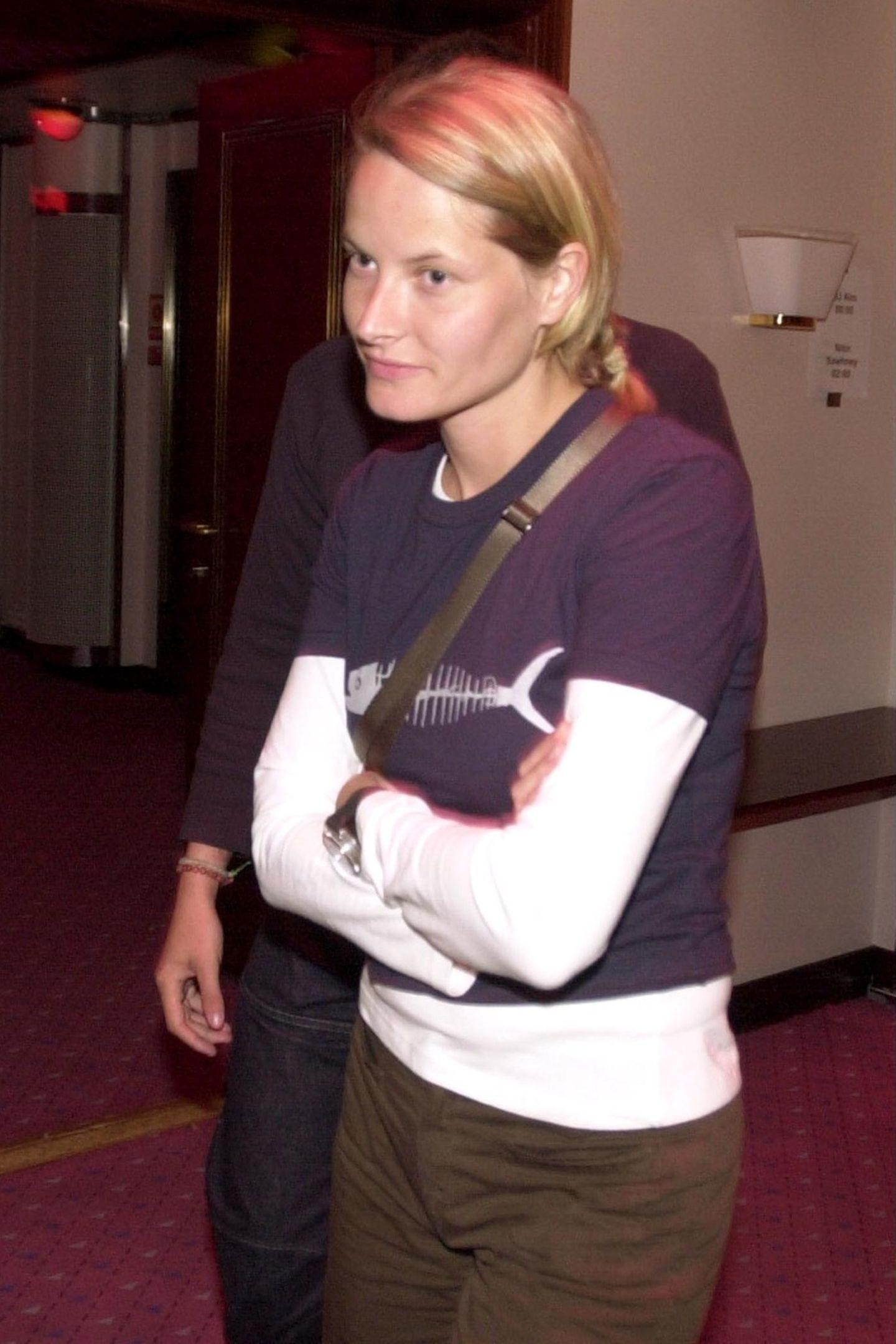 Mette-Marit - früher ein echtes Skater-Girl?