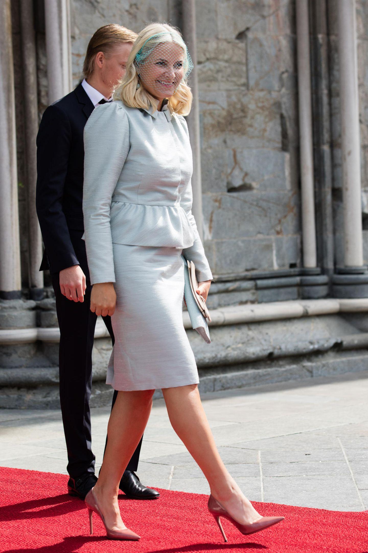 Kronprinzessin Mette-Marit wird einmal die Königin von Norwegen