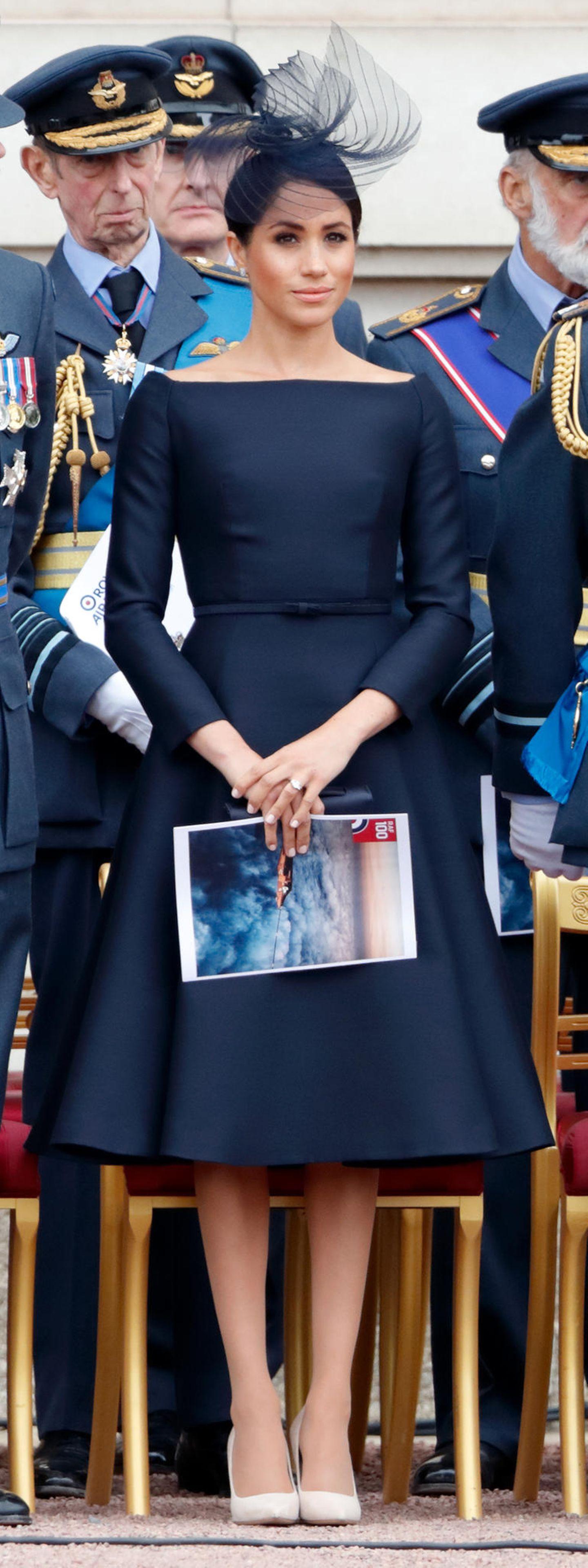 Auch als Royal führt Meghan Markle die Best-Dessed-Listen an