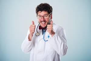 Salzen, bis der Arzt lobt