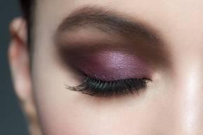 Make-up-Trends im Herbst: Lila Augen-Make-up