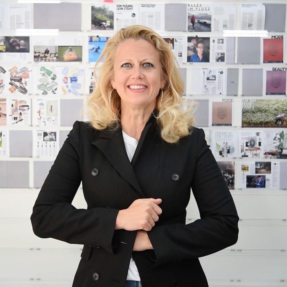 Barbara über Kräutergarten