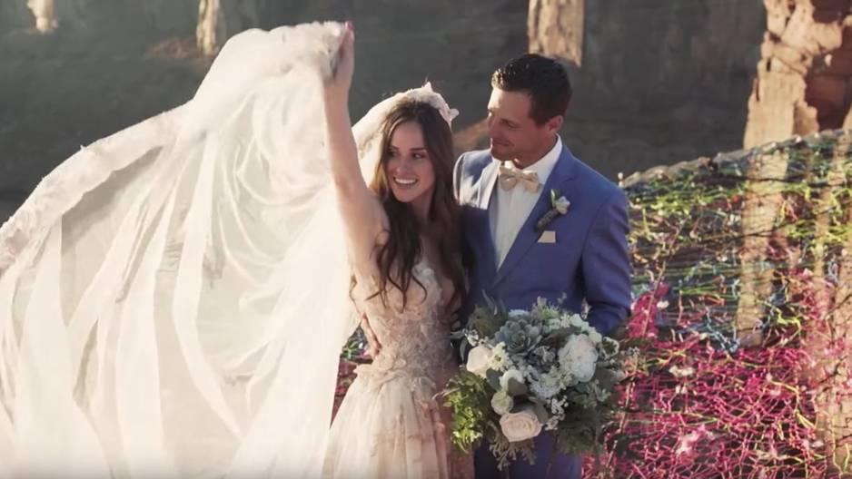 Hochzeit unter Hochspannung: Erkennt ihr, was dieses Foto so lebensgefährlich macht?
