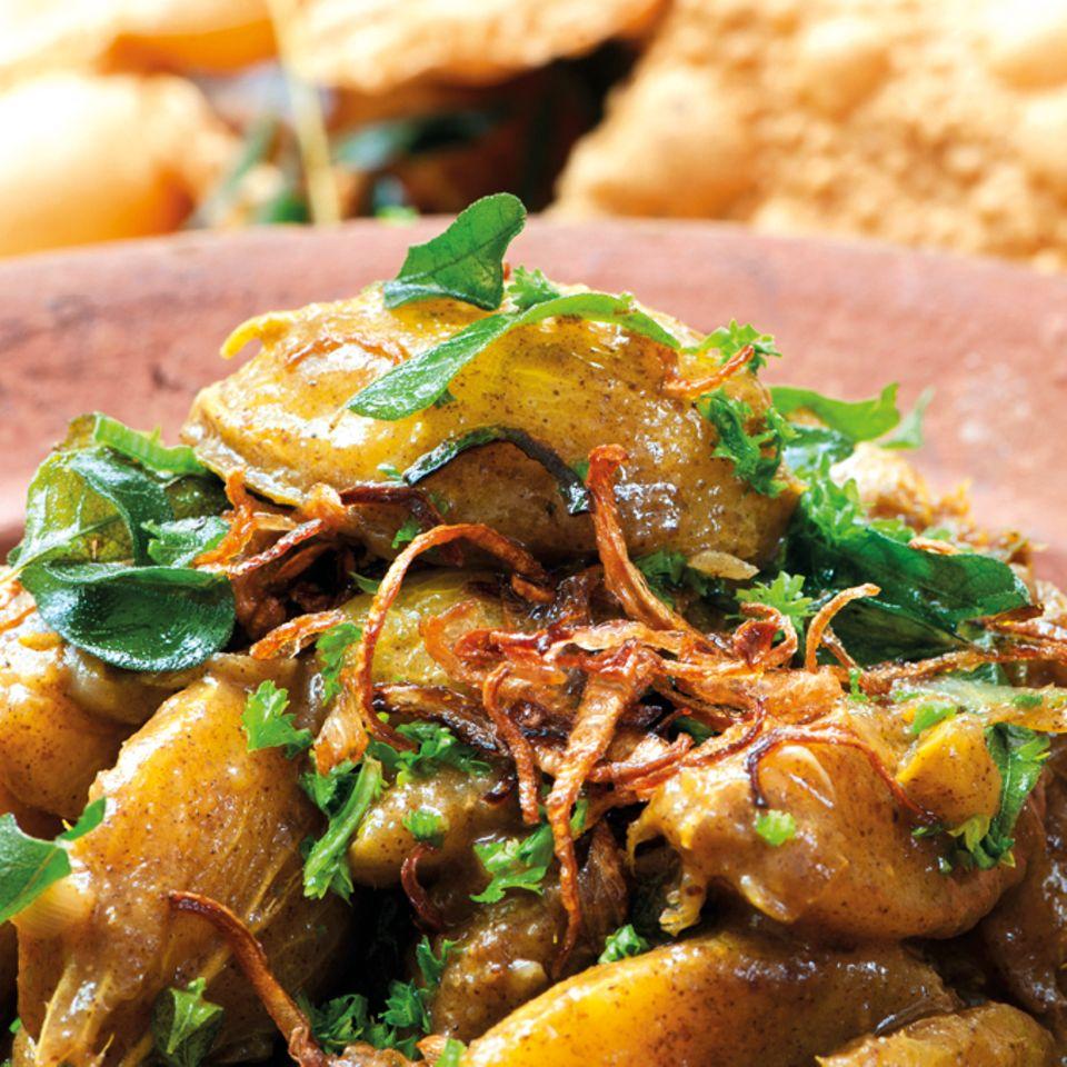 Fein gewürztes Kartoffel-Curry