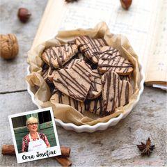 Gewürzherzen mit Schokolade
