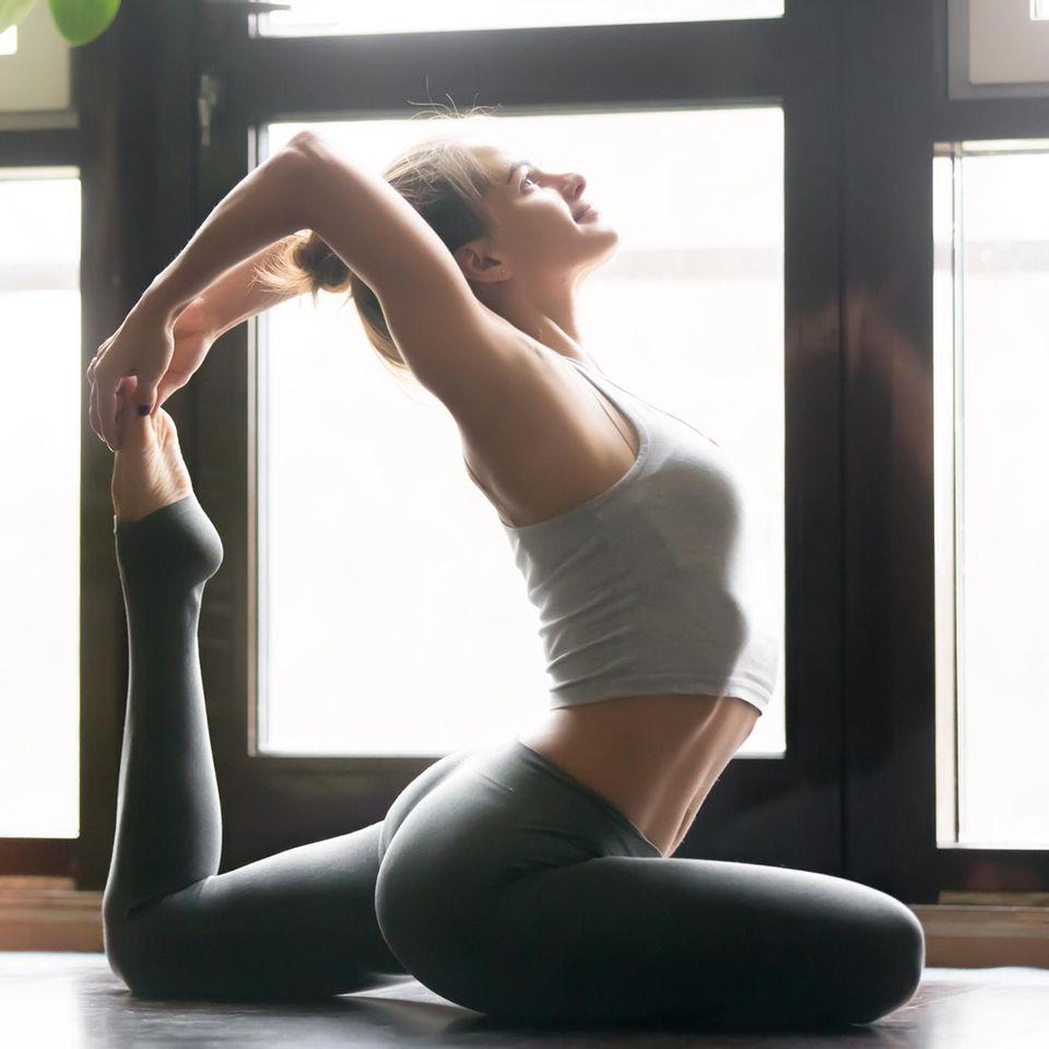 Tara Stiles: Frau macht Yoga